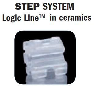 Step Brackets Logic Line in Ceramics (Leone)