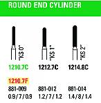 NeoDiamond Round End Cylinder Burs (Microcopy)