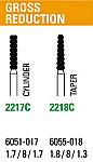 NeoDiamond Gross Reduction Burs (Microcopy)