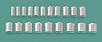 Aluminum Shell Crown