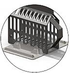 Instrument Base Rack (Dentsply)