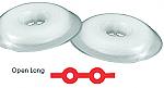 Tuff Chain Elastomeric Chain Open Long Clear Spool (Dentsply)