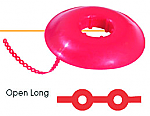 Tuff Chain Elastomeric Open Long Chain Colored Spool (Dentsply)