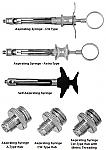 Aspirating Syringes (J & J instrument)