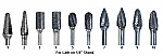 Laboratory Lathe Carbide Burs (DA)