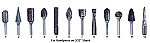Laboratory Carbide Burs for Handpiece (DA)