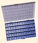 Transparent Crown Form Refills Peel-Off Type (HB)
