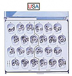 Stainless Steel Permanent Molar Crown Kit (DA)