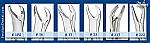 Miltex Lower Molar Forceps (Integra Miltex)