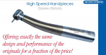 Gemini Fiber Optic Handpiece for Kavo (Johnson-Promident)