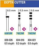 NeoDiamond Depth Cutter Burs - Microcopy