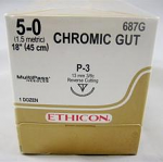 Ethilon Chrome Gut Sutures (Ethicon)