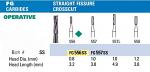 NeoBur FGSS Straight Fissure Crosscut Carbide Burs (Microcopy)