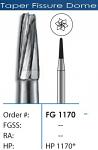 FG R.E. Tapered Fissure Carbide Burs