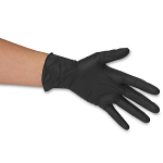Nitrile Black Exam Powder-Free Gloves - Diamond