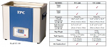 Ultrasonic Cleaner Unit - TPC