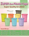 Super 5oz Plastic Cups