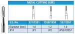 FG Metal Cutting Carbide Burs - Johnson-Promident