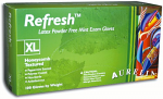 Refresh Peppermint Latex Powder Free Gloves - Aurelia