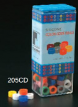 Large Color Code Rings Silicone