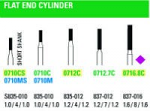 NeoDiamond Flat End Cylinder Burs - Microcopy