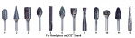 Laboratory Carbide Burs for Handpiece - DA