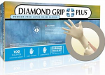 Diamond Grip Plus Natural Rubber Latex - Microflex