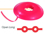 Tuff Chain Elastomeric Open Long Chain Colored Spool (Dentsply)