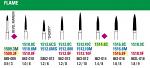 NeoDiamond Flame Burs - Microcopy
