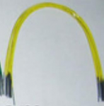 Yellow Color Coated Niti Archwires (ATW)