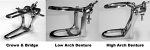 Chrome Metal Articulator