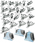 Stainless Steel Impression Trays - Solid Perma Lock (ASA)
