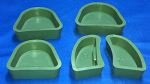 Green Silicon Rubber Base Formers
