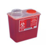 Monoject Chimney top Sharps Containers (Covidien)