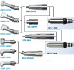 Star Titan Type Low Speed Handpieces - Nakamura