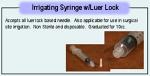 Irrigating Syringe W/Luer Lock