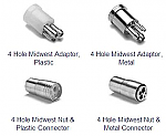 4 Holes Tubing Adapters - Parts
