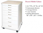 Doctor's Mobile Cabinet - TPC