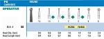 NeoBur FGSS Round Carbide Burs (Microcopy)