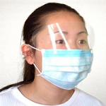 Ear Loop Face Masks with Shield