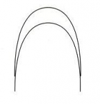 Stainless Steel Arch Wires -  100/Pkg