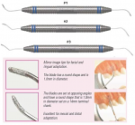 Diamond Coated Furcation Files - Nordent