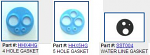 Handpiece Gaskets (HPP)