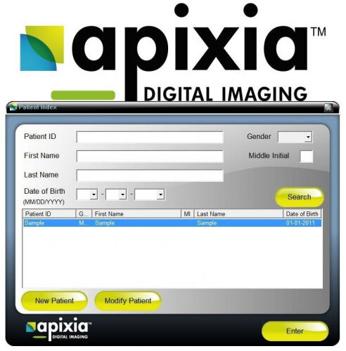 Apixia Scanner - Powerful Software Included
