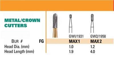 NeoBur FG Surgical Carbide Burs - Microcopy